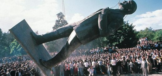 The Lenin statue in Addis Ababa