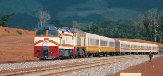 Tran Gabon Railroad