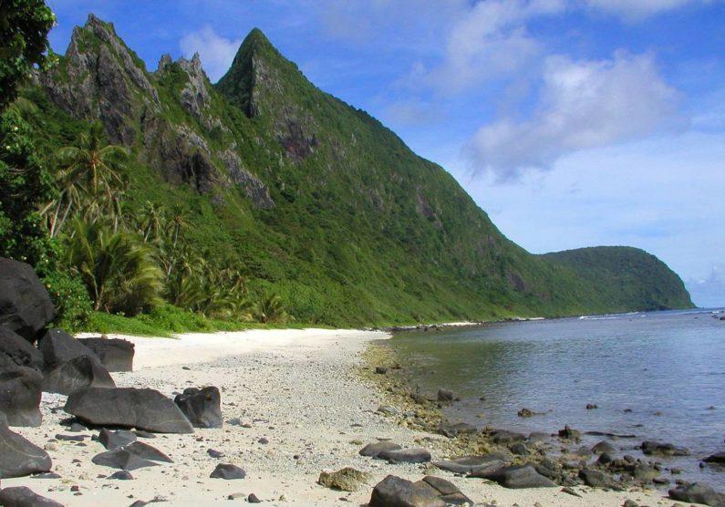 The deep-sea islands form part of Oceania