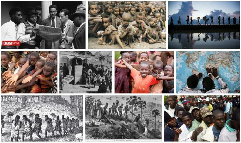 The emigration from Africa