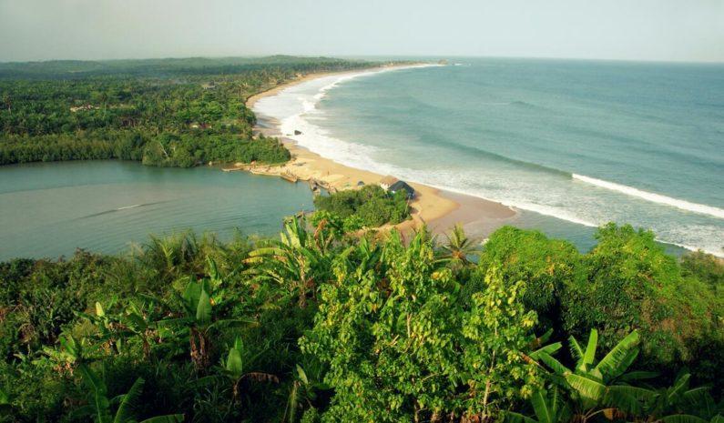 539 km long coastal strip