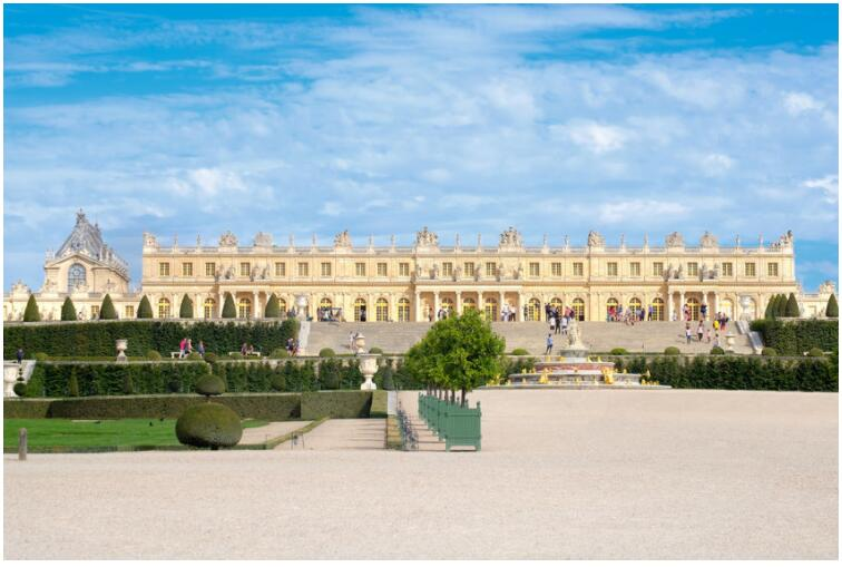 See the Palace of Versailles