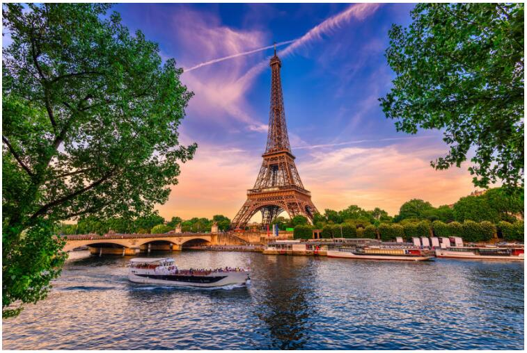 Take a river cruise on the Seine