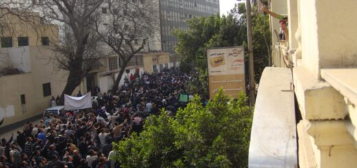 Demonstrations in Cairo, 2011