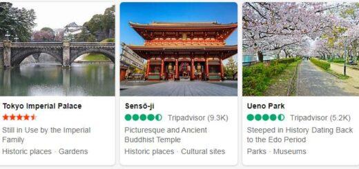 Japan Top 5 Sights