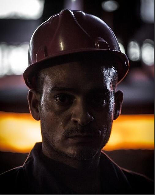 Egyptian industrial worker