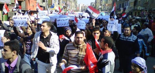 Egyptians from all walks of life and ages took part in the demonstrations