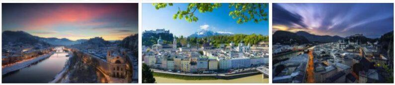 Salzburg, Austria Cityscape