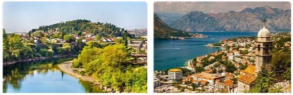 Attractions in Montenegro